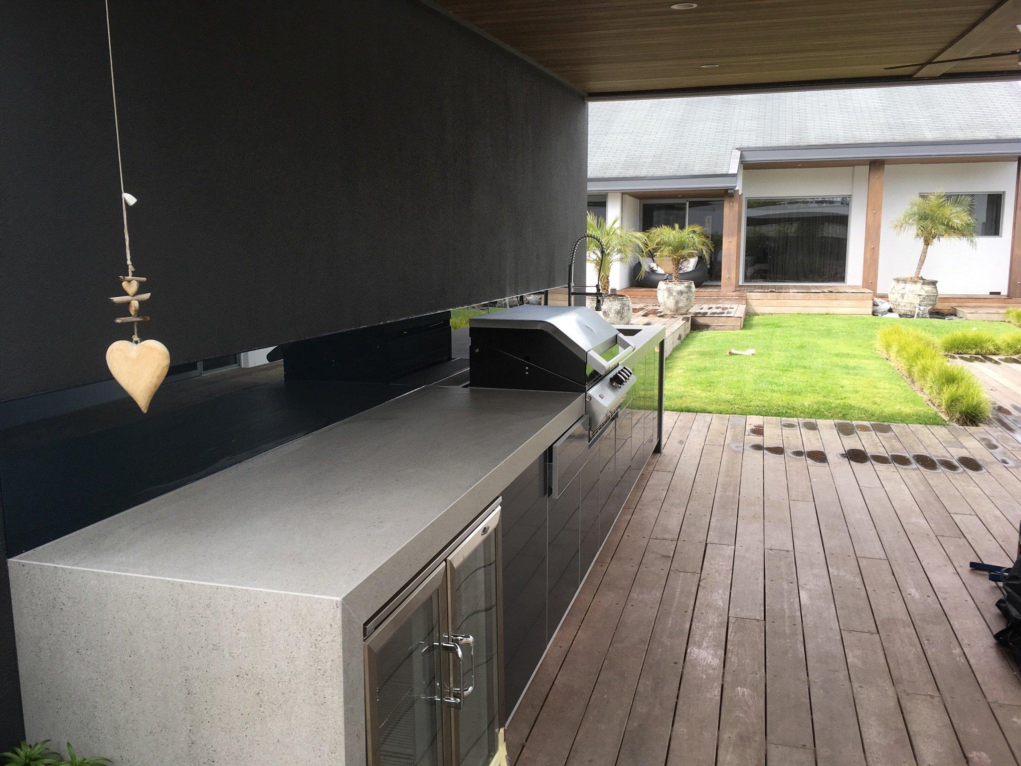 Dekton Strato Outdoor Kitchen