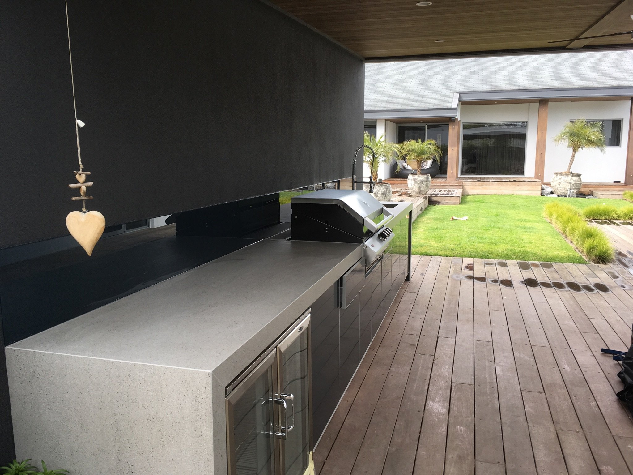 Dekton Strato Outdoor Kitchen