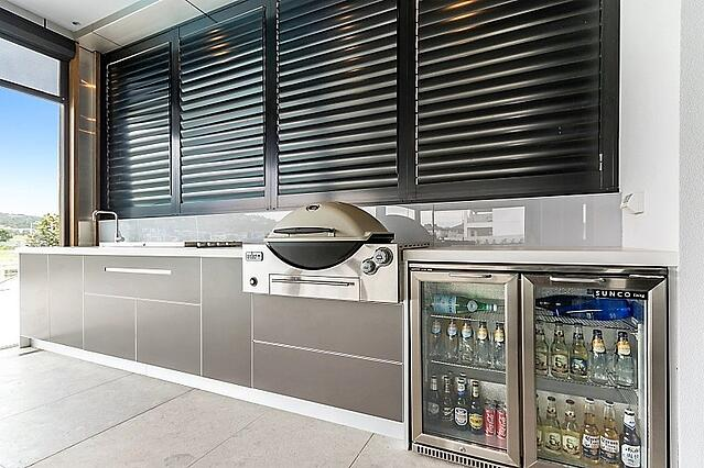 Weber Q3600 Beefeater Proline BBQ Outdoor Kitchen Melbourne