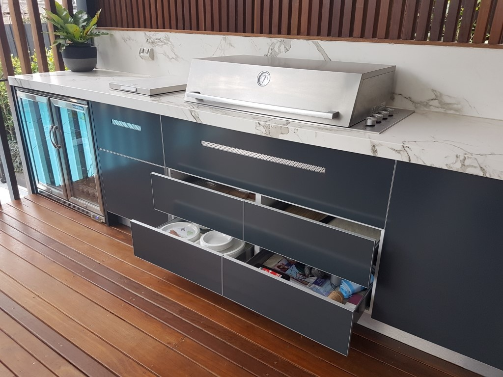 Outdoor Kitchen Storage